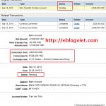 Cách chuyển tiền từ tài khoản PayPal về các Ngân hàng ở Việt Nam