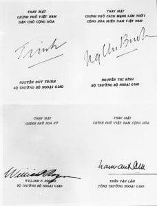 lễ ký hiệp định paris