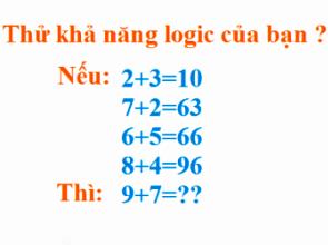 bai toan logic