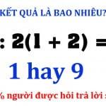 Đố vui toán học 1
