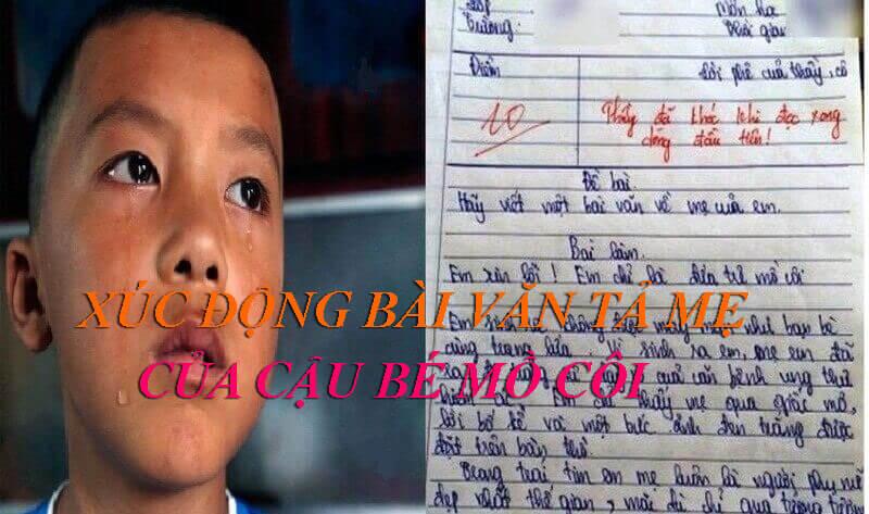 XUC DONG VAN TA ME