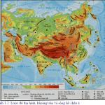 Bài 1: Vị trí địa lí, địa hình và khoáng sản Châu Á ( Địa lí 8 )